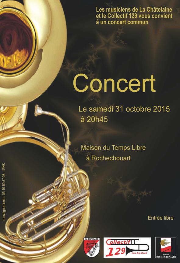 Affiche concert CHAT-C129
